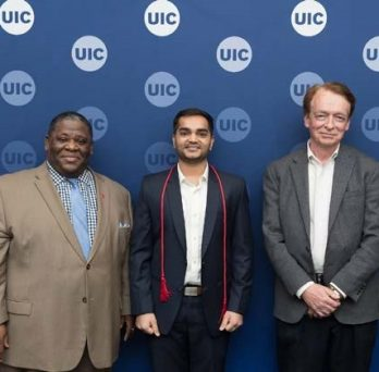 UIC Masters of Energy Engineering graduate wins Chancellor's Student Service and Leadership Award