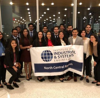 UIC's chapter of Institute of Industrial and Systems Engineers (IISE) has been presented with the society's Gold Award