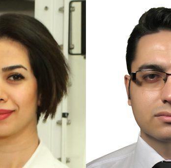 Tara Foroozan and Ali Zamani MIE PhD students