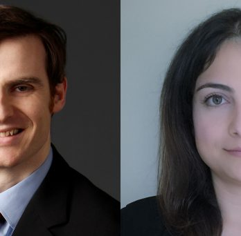 New MIE faculty members John Finan and Azadeh Haghighi