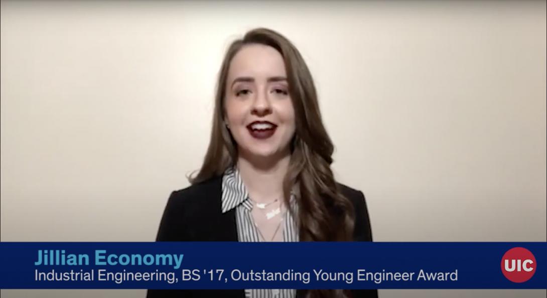 Jillian Economy UIC Industrial Engineering alumnae